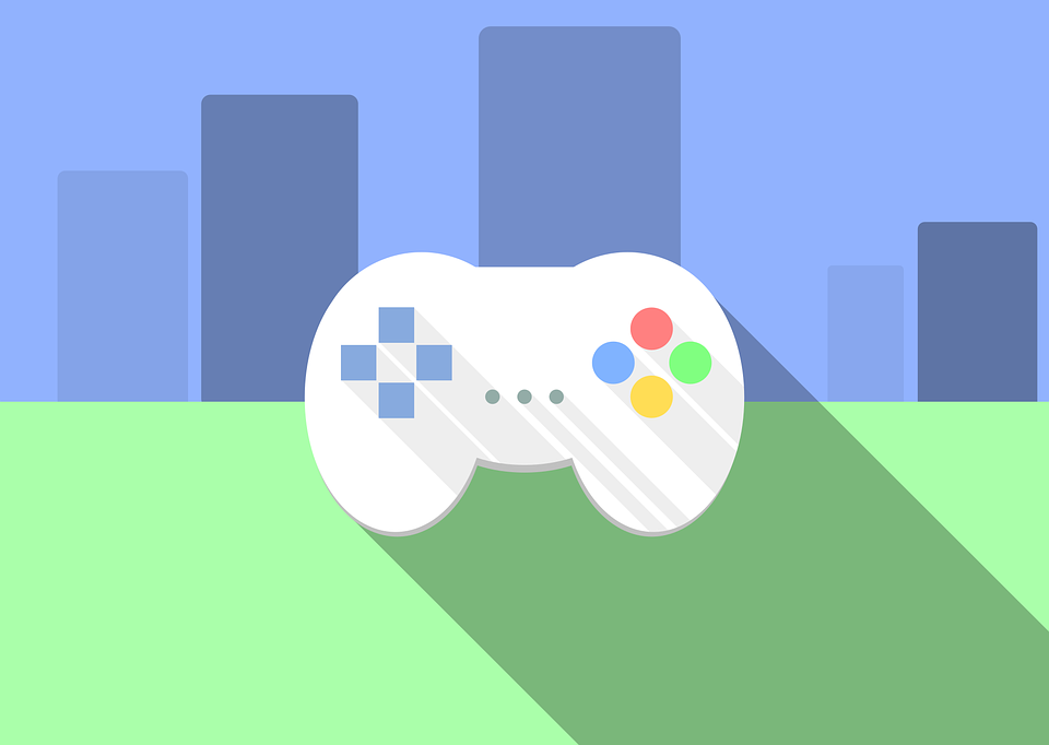 Clipart of a game controller